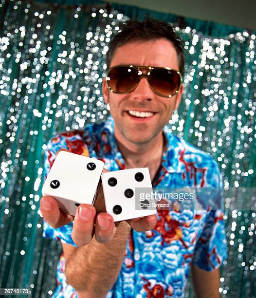Man with dice