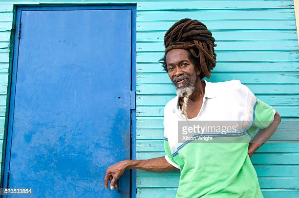 Man with dreadlocks, Jamaica