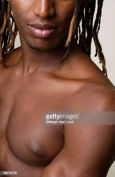 Man with dreadlocks