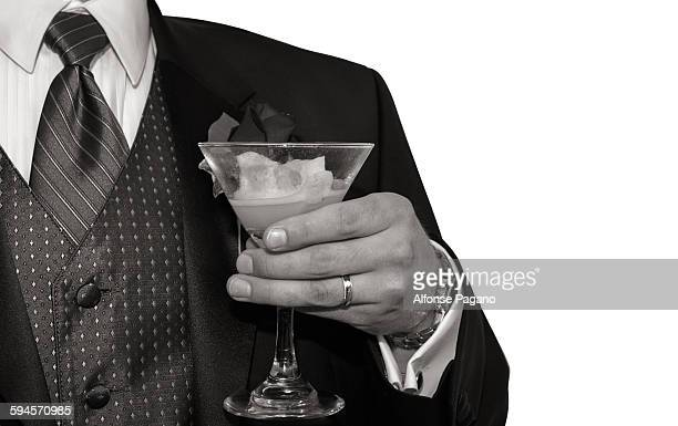 Man with drink