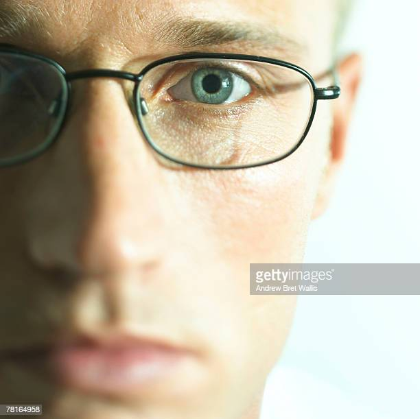 Man with eyeglasses