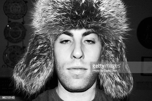 man  with  hat - fur hat stock photos and pictures