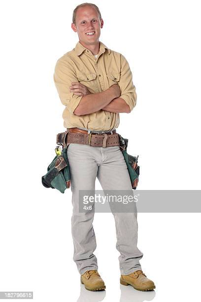 Man with tool belt