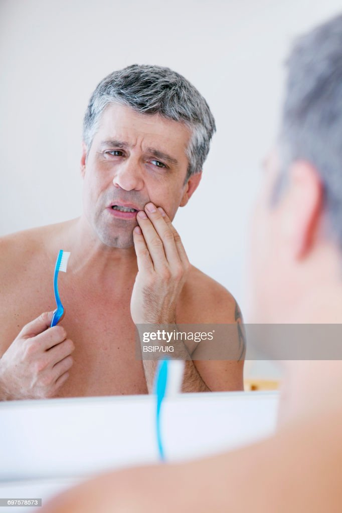 Man with toothache   : Stock Photo