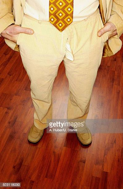 man with unzipped pants - hands in her pants stock pictures, royalty-free photos & images