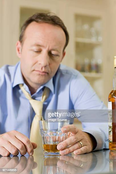 Man with whisky