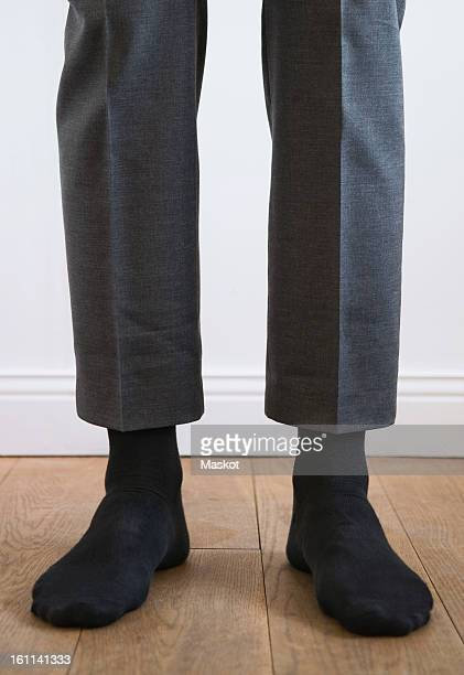Man without shoes