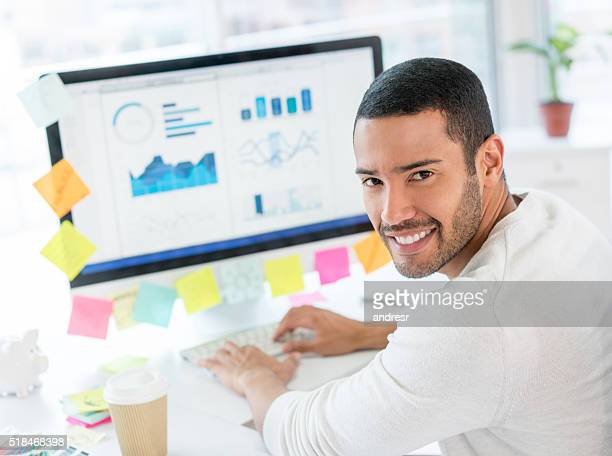 Man working at the office