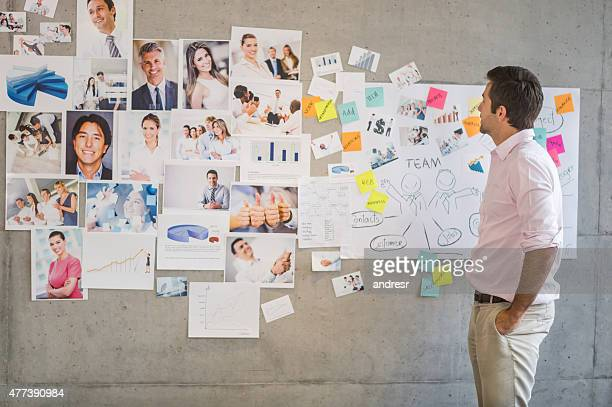 Man working in a creative business