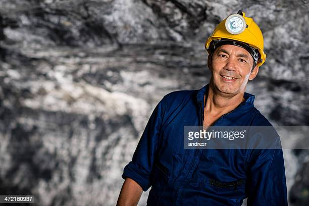 Man working in a mine