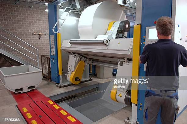 man working in a printing office #8 - lithograph stock pictures, royalty-free photos & images
