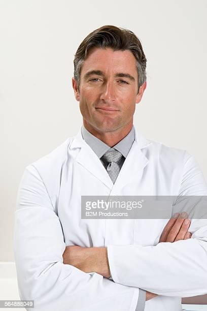 Man working in laboratory lab