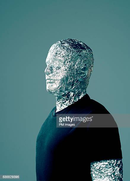 Man Wrapped In Foil