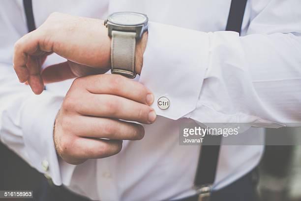 Man wtih cuffs