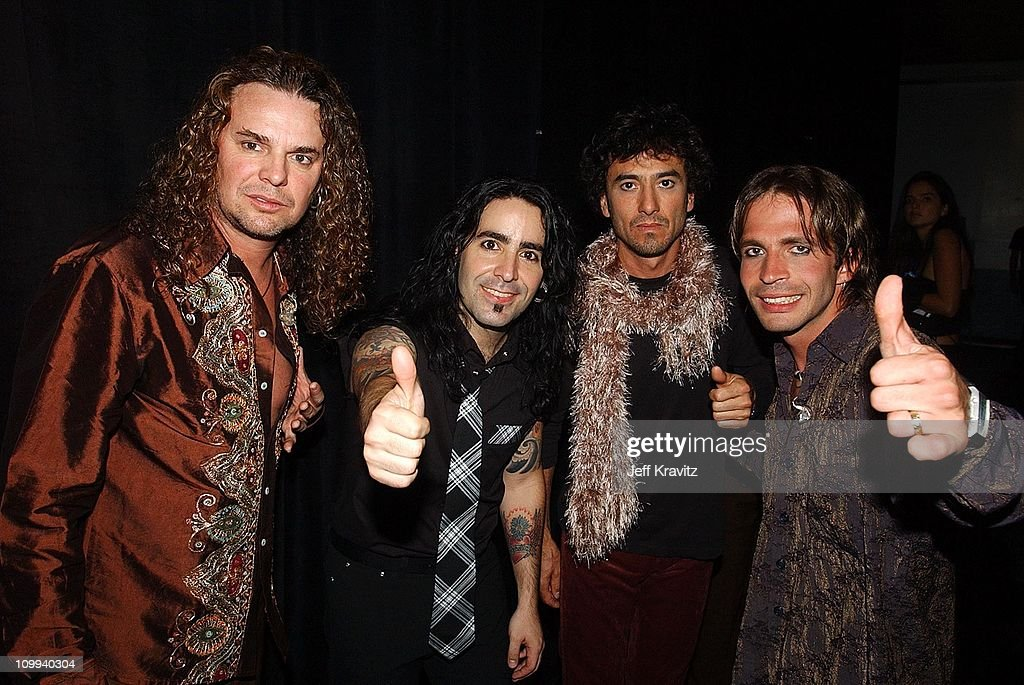 Mana during MTV Video Music Awards Latinoamerica 2002 at Jackie Gleason Theater in Miami, FL, United States.