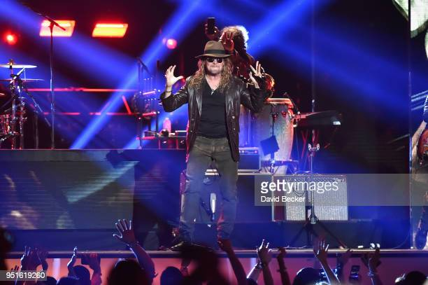 Mana perform onstage at the 2018 Billboard Latin Music Awards at the Mandalay Bay Events Center on April 26 2018 in Las Vegas Nevada