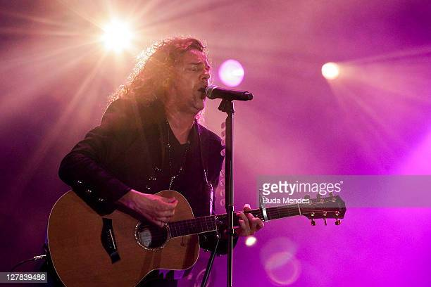 Mana performs on stage during a concert in the Rock in Rio Festival on October 01 2011 in Rio de Janeiro Brazil Rock in Rio Festival comes back to...