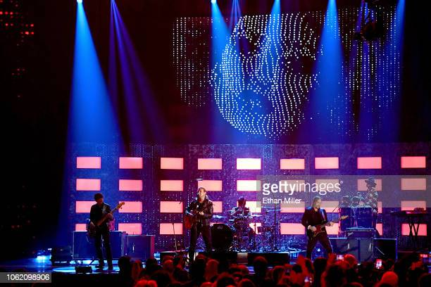 Mana performs onstage during the 19th annual Latin GRAMMY Awards at MGM Grand Garden Arena on November 15 2018 in Las Vegas Nevada