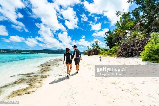 managaha island, saipan - 北マリアナ諸島 ストックフォトと画像