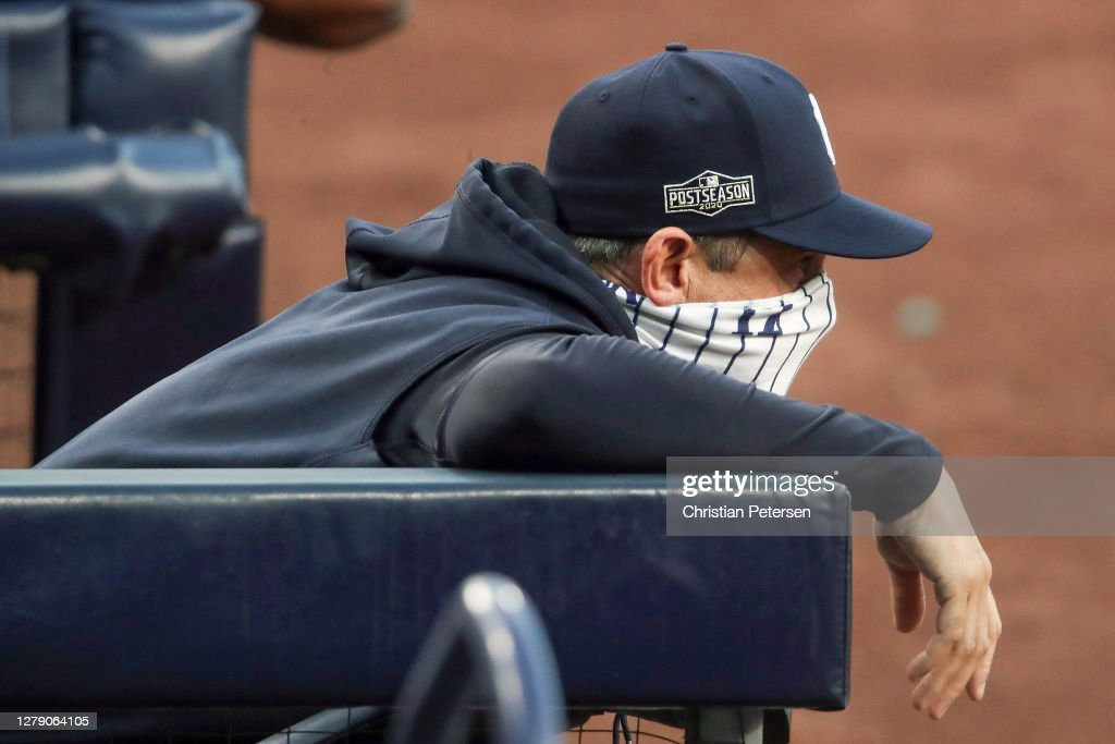 Division Series - Tampa Bay Rays v New York Yankees - Game Three : News Photo
