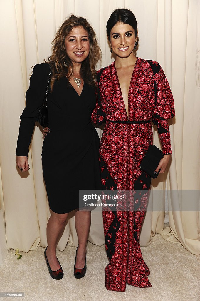Manager Amy Zvi and actress Nikki Reed attend the 22nd Annual Elton John AIDS Foundation Academy Awards Viewing Party at The City of West Hollywood Park on March 2, 2014 in West Hollywood, California.