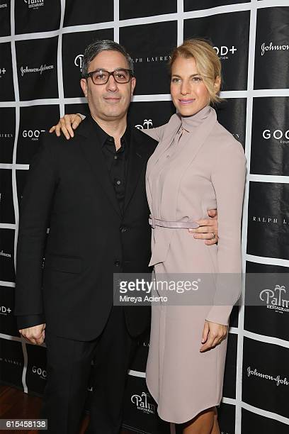 Manager and producer at GOOD Fatherhood Leadership Council Jason Weinberg and founder at GOOD Foundation Jessica Seinfeld attend the 2016 Foundation...