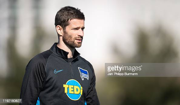 Manager Arne Friedrich of Hertha BSC during the training ...