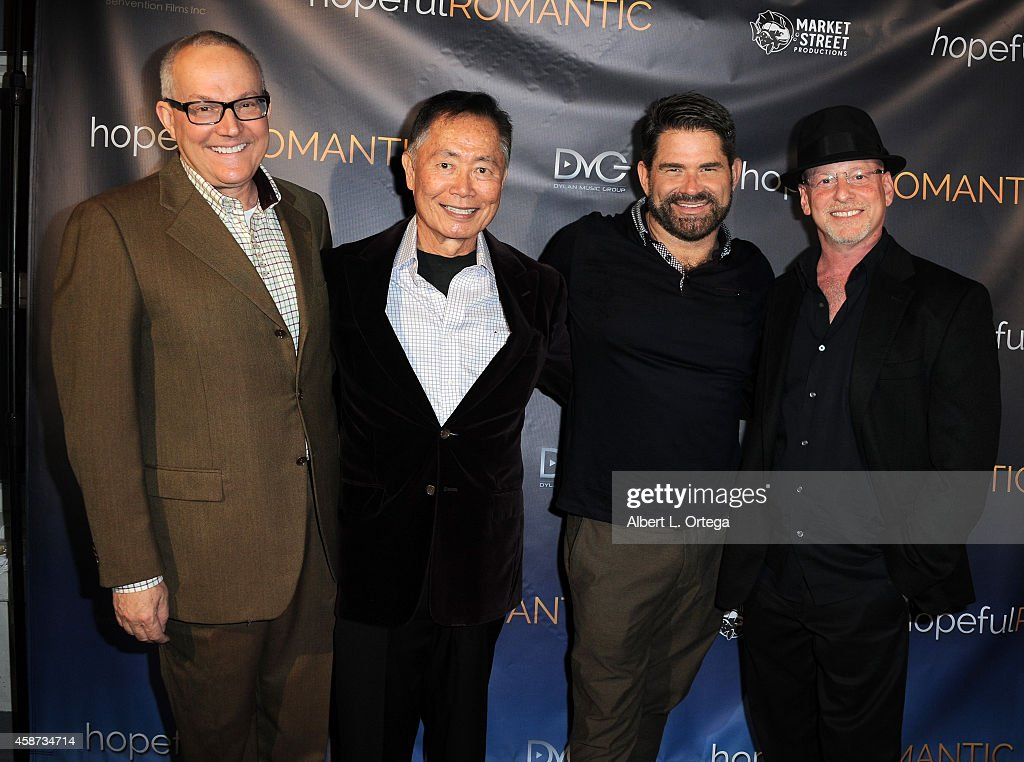 "Special Screening of Matt Zarley's ""hopefulROMANTIC"" With George Takei : News Photo"