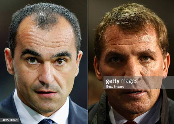 Manager Brendan Rodgers of liverpool looks on during the Barclays Premier League match between Tottenham Hotspur and Liverpool at White Hart Lane on...