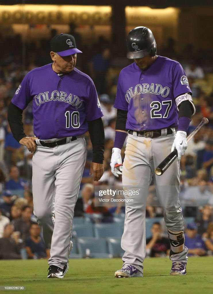 Colorado Rockies v Los Angeles Dodgers : News Photo