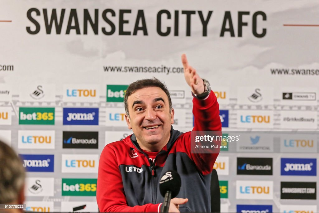 Swansea City Training and Press Conference