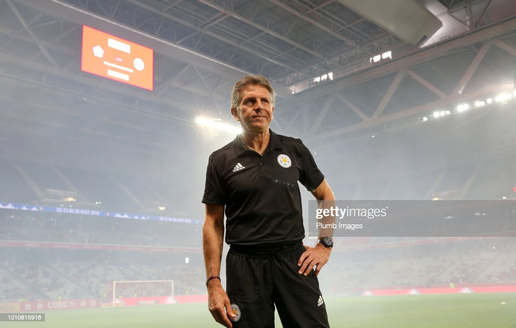LOSC Lille v Leicester City  - Friendly Match : News Photo