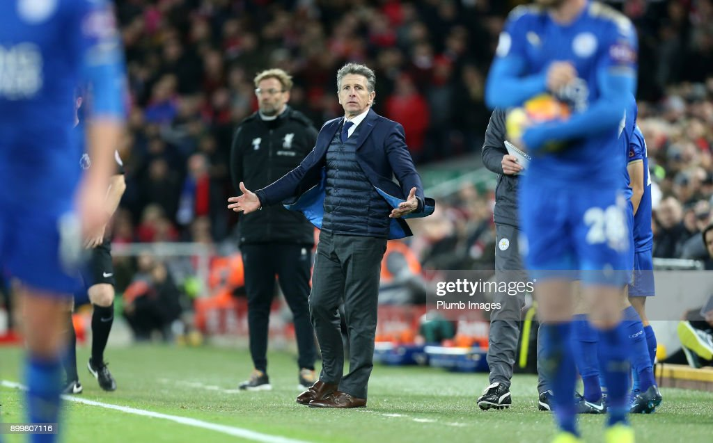 Liverpool v Leicester City - Premier League : News Photo