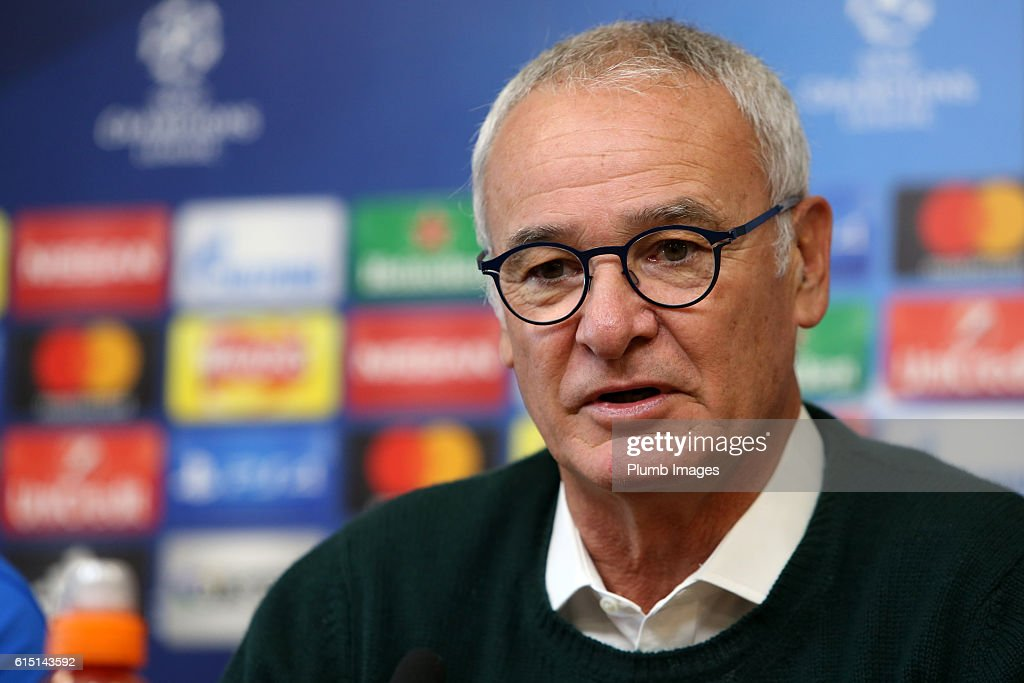 Leicester City FC Training Session and Press Conference : News Photo