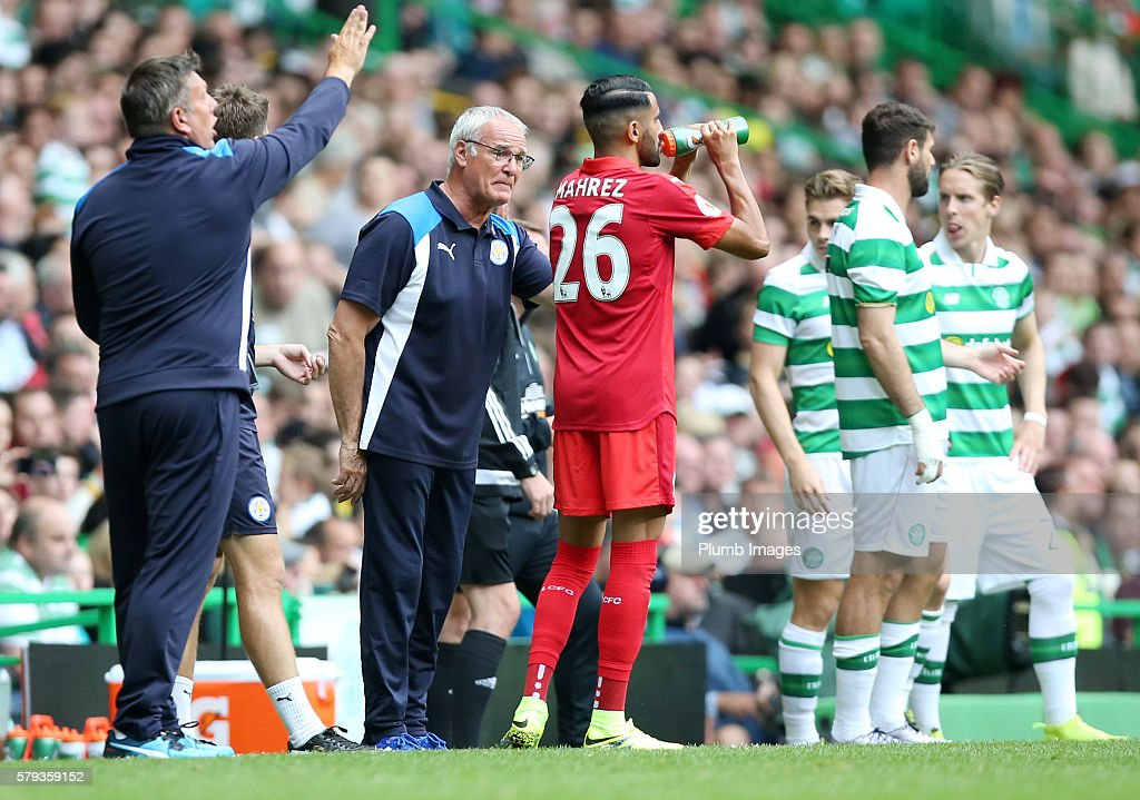 Celtic v Leicester City - Pre-Season Friendly : News Photo