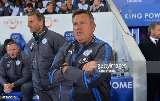 Manager Craig Shakespeare of Leicester City at King Power Stadium ahead of the Premier League match between Leicester City and West Bromwich Albion...