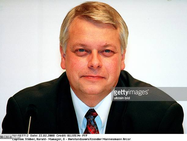 Manager D Vorstandsvorsitzender der privatenTelefongesellschaftMannesmann Arcor AG uCoPorträt