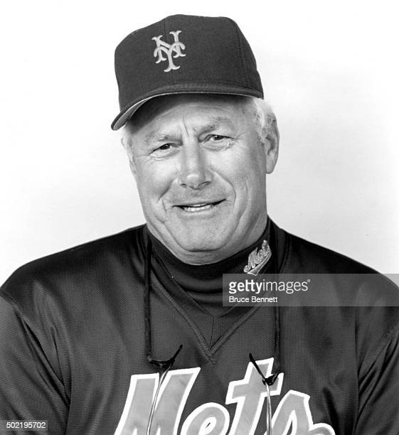 Manager Dallas Green of the New York Mets poses for a portrait circa 1995 in Flushing New York