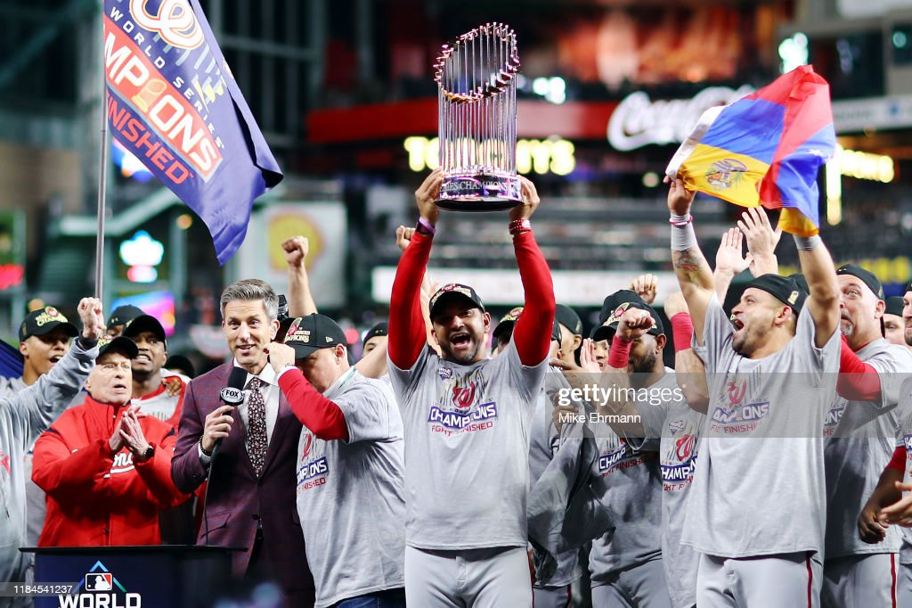 World Series - Washington Nationals v Houston Astros - Game Seven : News Photo