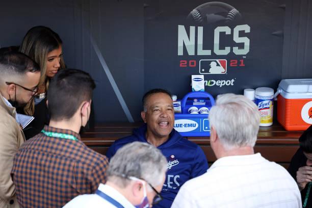 CA: Championship Series - Atlanta Braves v Los Angeles Dodgers - Game Five