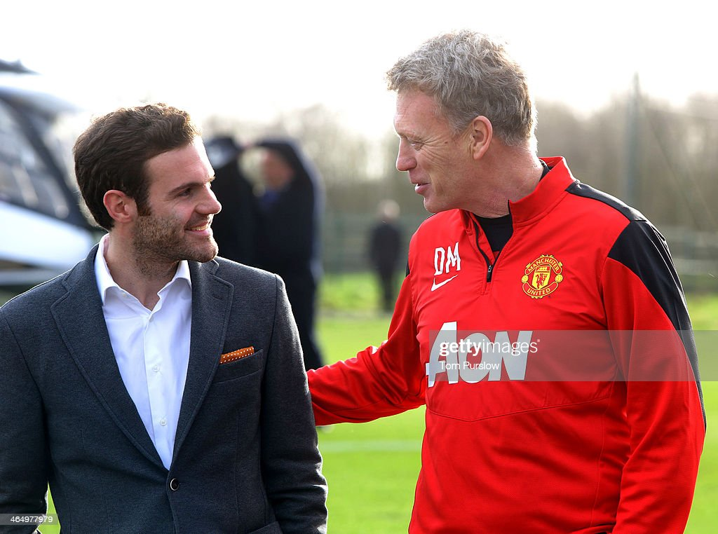 Juan Mata Arrives At Manchester United Training Ground Ahead Of Medical : News Photo