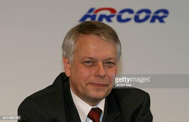 Manager DVorstandsvorsitzender des Telekommunikationsunternehmen Arcor AG Porträt