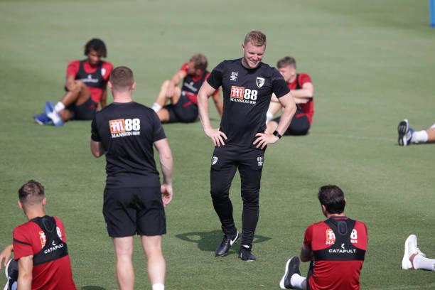 ESP: AFC Bournemouth Pre-Season Training Session Camp