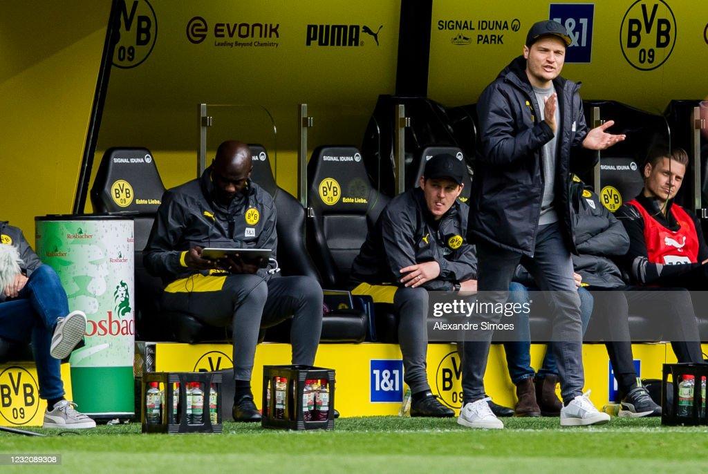 Borussia Dortmund v Eintracht Frankfurt - Bundesliga : News Photo