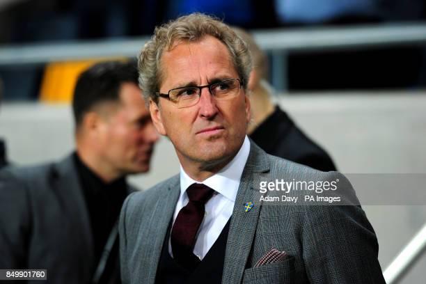 Manager Erik Hamren Sweden
