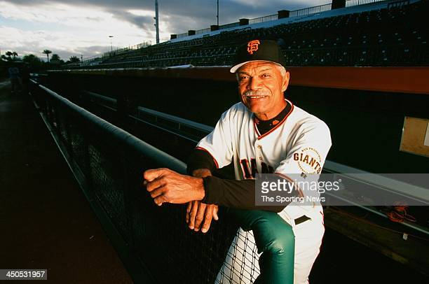 Manager Felipe Alou of the San Francisco Giants poses for a portrait on February 27 2003