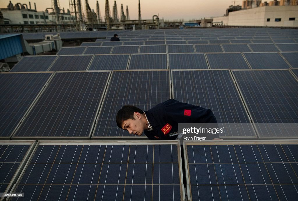 Chinese Solar Manufacturer Supplies a Growing Domestic Market : News Photo