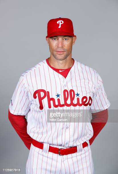 Manager Gabe Kapler of the Philadelphia Phillies poses during Photo Day on Tuesday February 19 2019 at Spectrum Field in Clearwater Florida