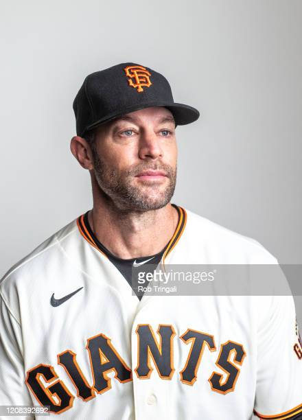 Manager Gabe Kapler of the San Francisco Giants poses for a portrait at Scottsdale Stadium, the spring training complex of the San Francisco Giants...