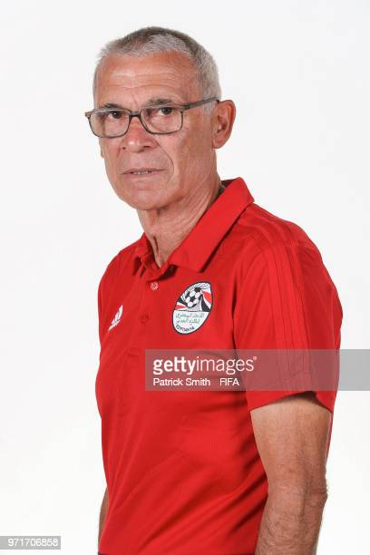 Manager Hector Cuper poses for a portrait during the official FIFA World Cup 2018 portrait session at The Local Hotel on June 11, 2018 in Gronzy,...